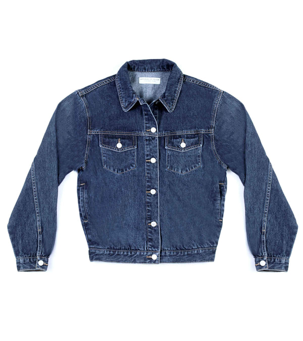 Method of Denim Mens Jackets Boiler Maker Jacket  - Indigo (1973090549846)