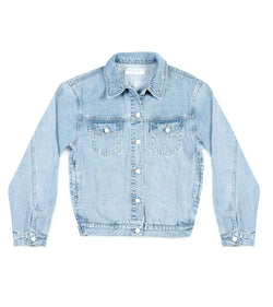 Method of Denim Mens Jackets Boiler Maker Jacket  - Light Blue