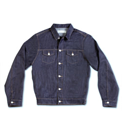 Method of Denim Mens Jackets Boilermaker Denim Jacket - Raw (1973097431126)