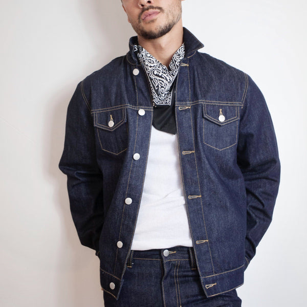 Method of Denim Mens Jackets Boilermaker Denim Jacket - Raw