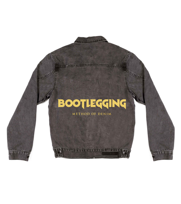 Method of Denim Mens Jackets Bootlegging Denim Jacket