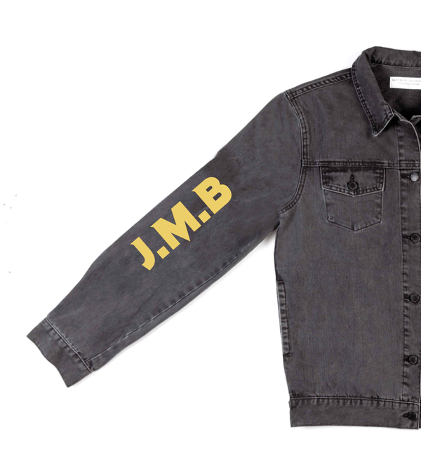 Method of Denim Mens Jackets Bootlegging Denim Jacket (4563143950422)
