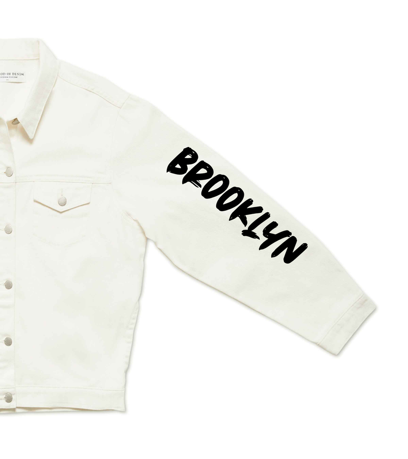 Method of Denim Mens Jackets Brooklyn Denim Jacket