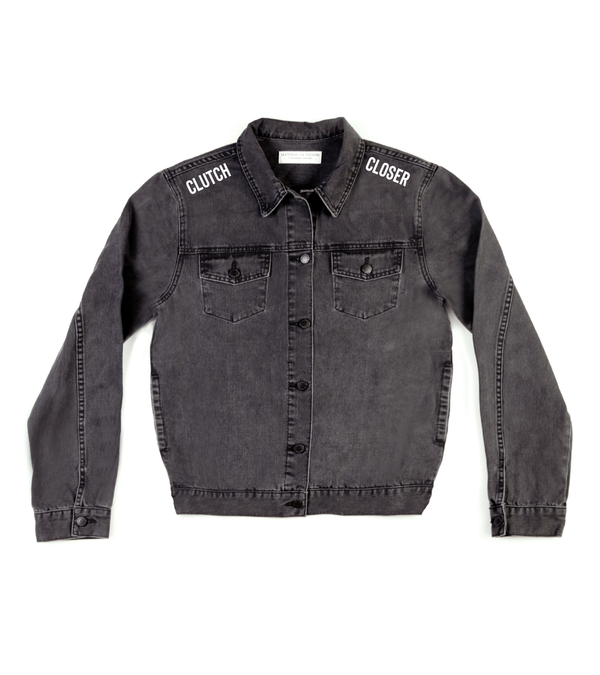 Method of Denim Mens Jackets Clutch Closer Denim Jacket