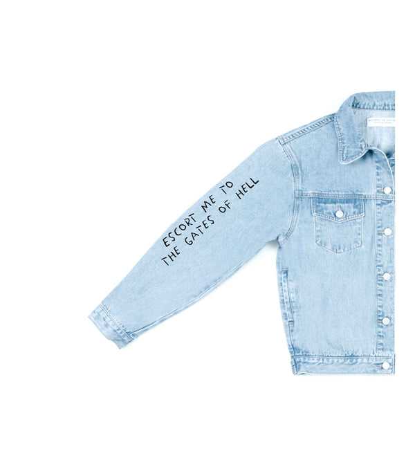 Method of Denim Mens Jackets Escort Me - Denim Jacket