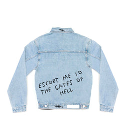 Method of Denim Mens Jackets Escort Me - Denim Jacket (3947301273686)