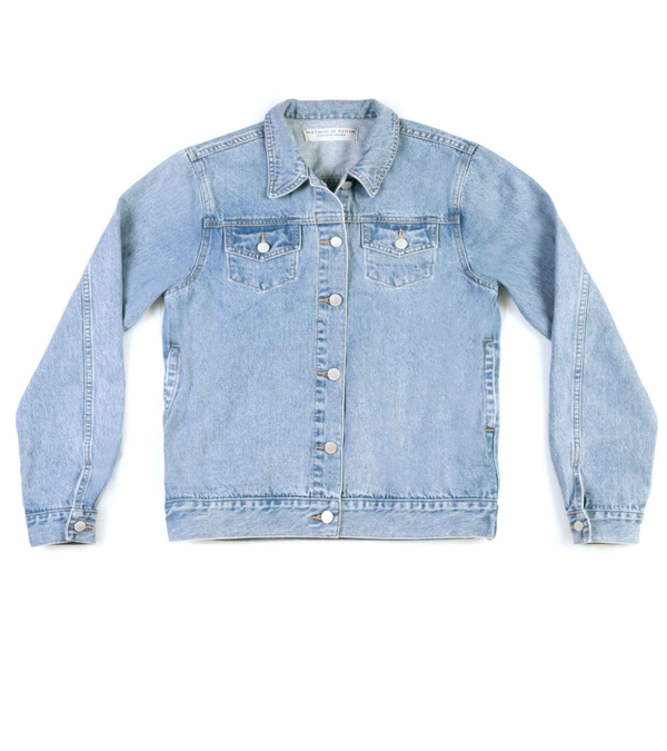 Method of Denim Mens Jackets 'Get It Girl' Denim Jacket
