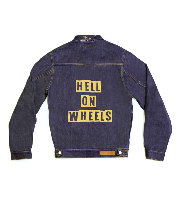 Method of Denim Mens Jackets Hell On Wheels Denim Jacket (4563368345686)