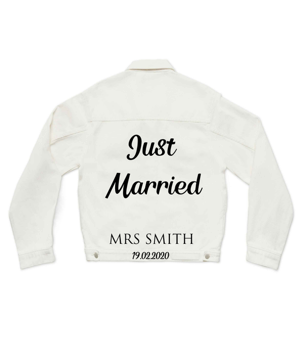 Method of Denim Mens Jackets Just Married (4455312097366)