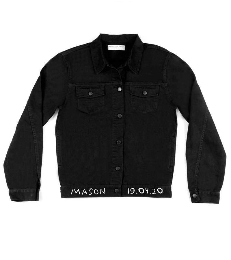 Method of Denim Mens Jackets 'Just Married' Denim Jacket (4613850562646)