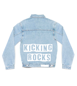 Method of Denim Mens Jackets Kicking Rocks Denim Jacket