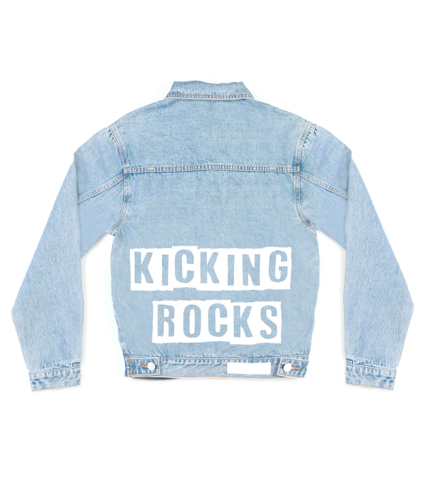 Method of Denim Mens Jackets Kicking Rocks Denim Jacket (4563284131926)