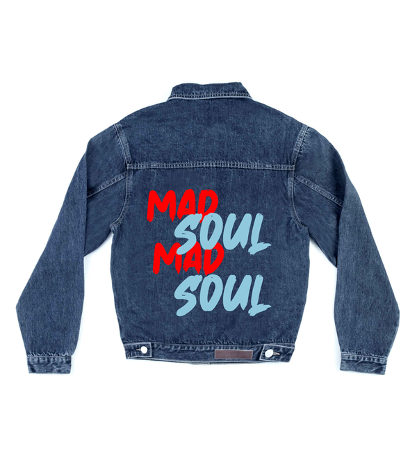 Method of Denim Mens Jackets Mad Soul Denim Jacket (4559814066262)
