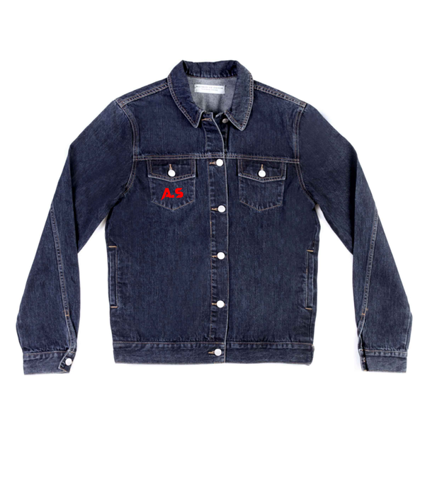 Method of Denim Mens Jackets Monogram Denim Jacket (4567107698774)