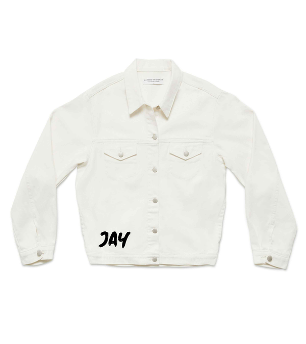Method of Denim Mens Jackets Monogram Denim Jacket