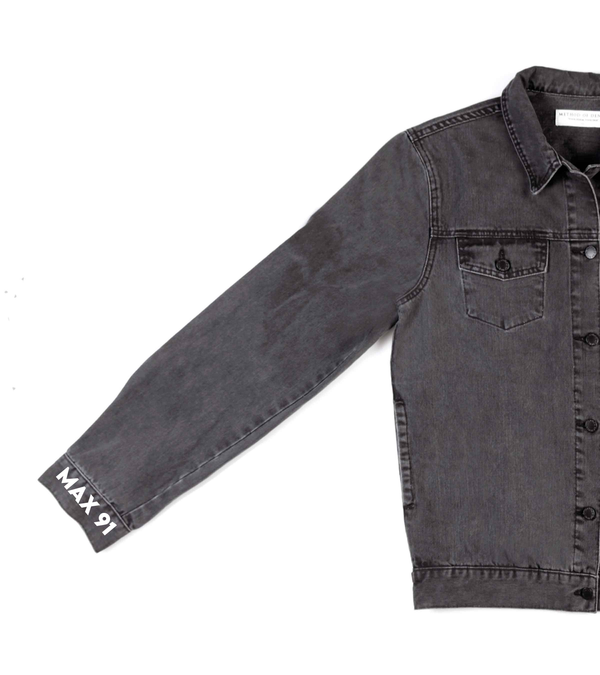 Method of Denim Mens Jackets Monogram Denim Jacket (4567413882966)