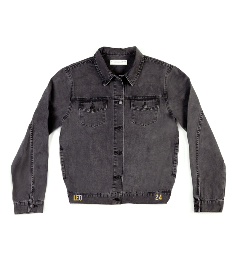 Method of Denim Mens Jackets Monogram Denim Jacket (4567416963158)