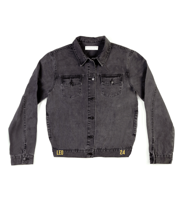 Method of Denim Mens Jackets Monogram Denim Jacket (4567418765398)