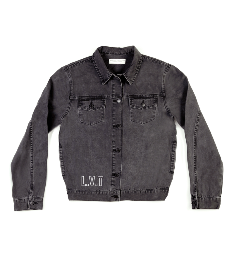 Method of Denim Mens Jackets Monogram Denim Jacket (4567422009430)