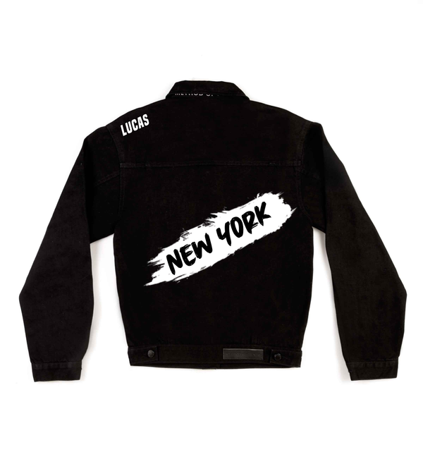 Method of Denim Mens Jackets My City New York Denim Jacket (4557155893334)