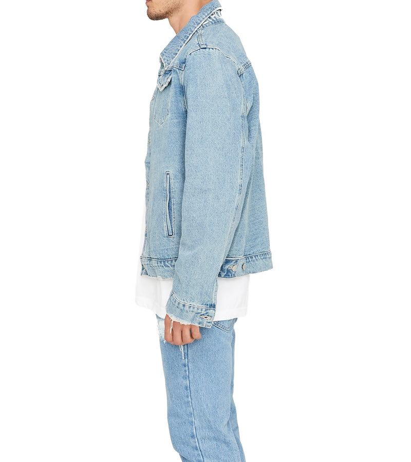 Method of Denim Mens Jackets Poison Vintage Denim Jacket - Light Blue