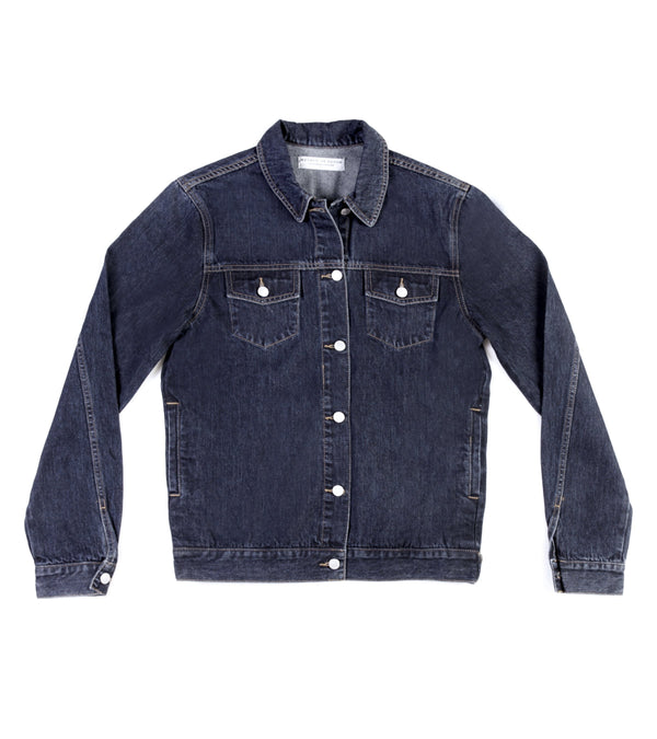 Method of Denim Mens Jackets Rebel Yell Trucker Jacket - Indigo (1328102506582)
