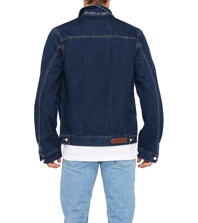 Method of Denim Mens Jackets Rebel Yell Trucker Jacket - Indigo