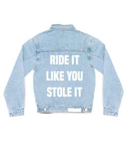 Method of Denim Mens Jackets Ride it Denim Jacket (4557196329046)