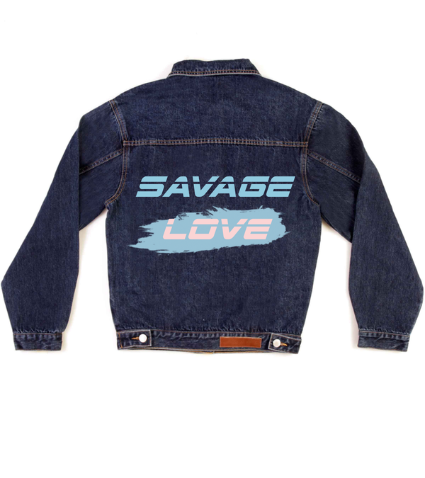 Method of Denim Mens Jackets Savage Love Denim Jacket