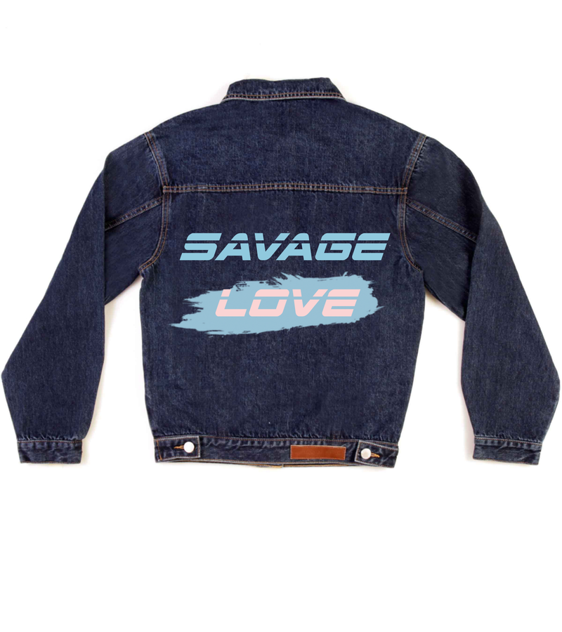 Method of Denim Mens Jackets Savage Love Denim Jacket (4556255494230)