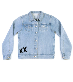 Method of Denim Mens Jackets Save yourself denim jacket (4556110954582)