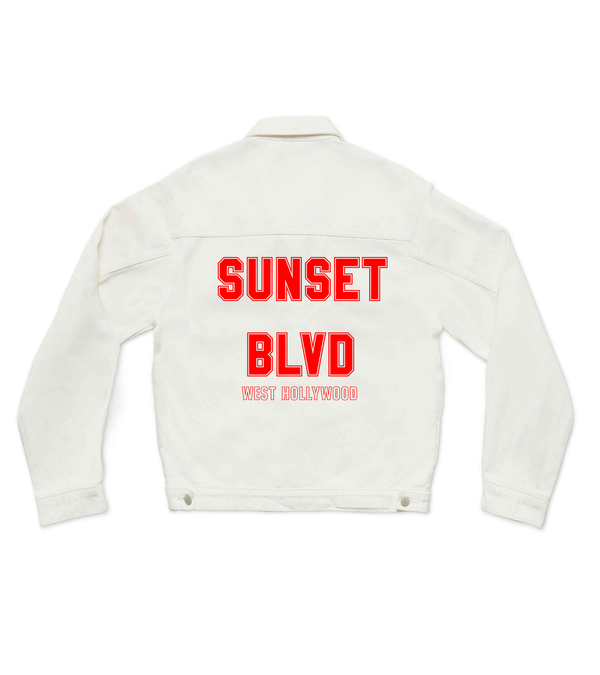 Method of Denim Mens Jackets Sunset blvd Denim Jacket