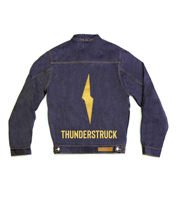 Method of Denim Mens Jackets Thunderstruck Denim Jacket (4563363266646)