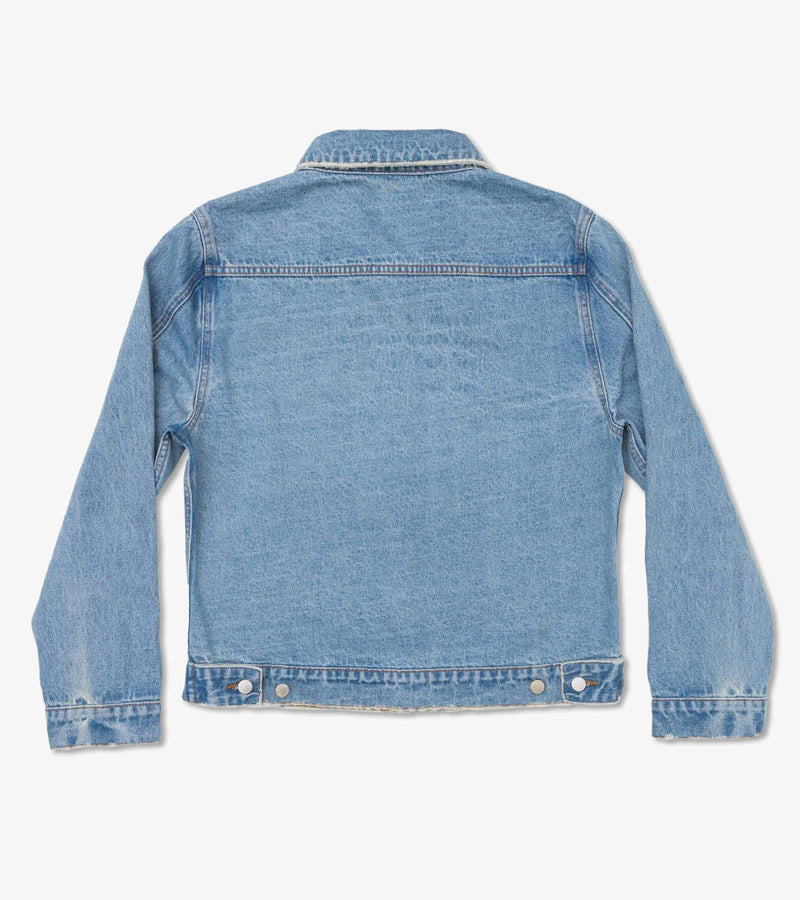 Method of Denim Mens Jackets Trucker Jacket - Vintage Blue (1333154971734)