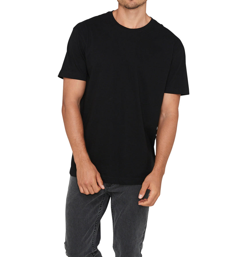Method of Denim Mens Tees Method of Denim Blank T-Shirt Black