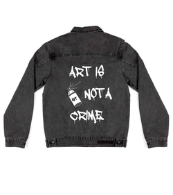 Art Is Not A Crime - Custom Jacket