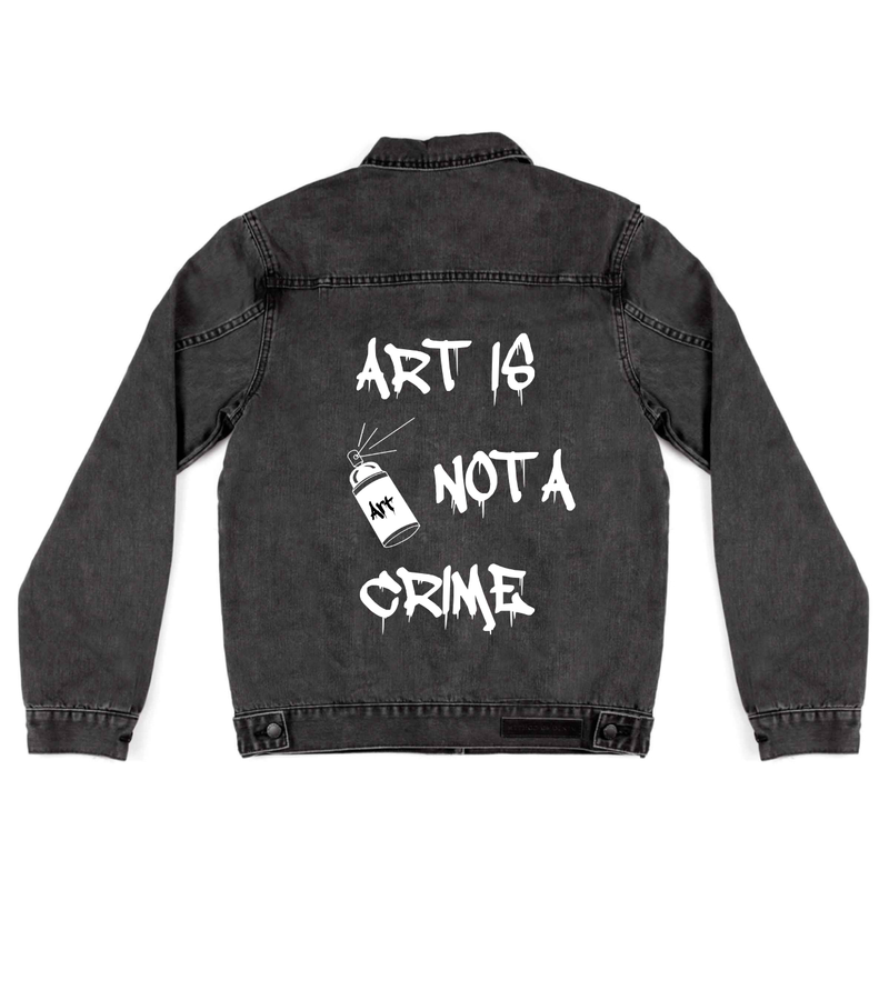 Art Is Not A Crime - Custom Jacket (3970862055510)