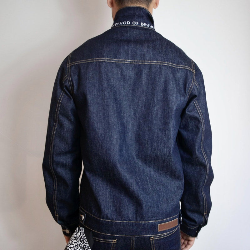 Method of Denim Our Designs Jackets (Mens) Bull Rider Denim Jacket (4559665430614)