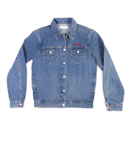 Method of Denim Our Designs Jackets (Mens) Kickin' it old-school Denim Jacket (4559658188886)