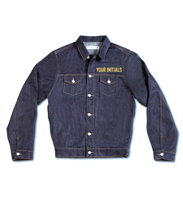 Method of Denim Our Designs Jackets (Mens) Thunderstruck Denim Jacket (4563363266646)