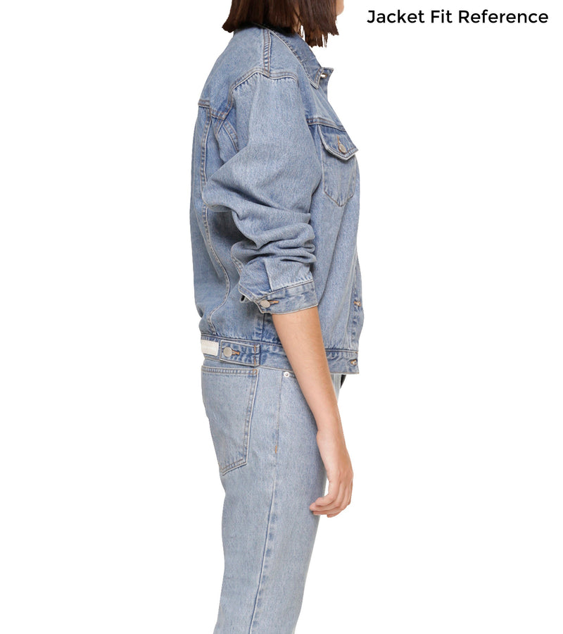 Method of Denim Our Designs Jackets (women) Let's Plan Our Escape - Custom Denim Jacket (3967677038678)
