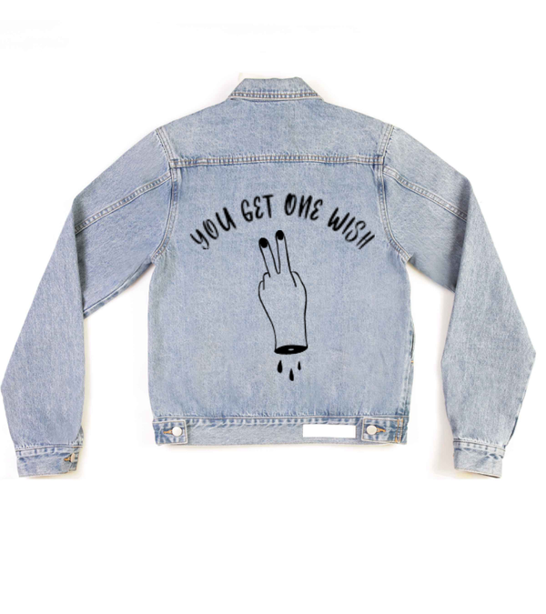 Method of Denim Our Designs Jackets (women) YOU GET ONE WISH - Custom Denim Jacket (3972271308886)