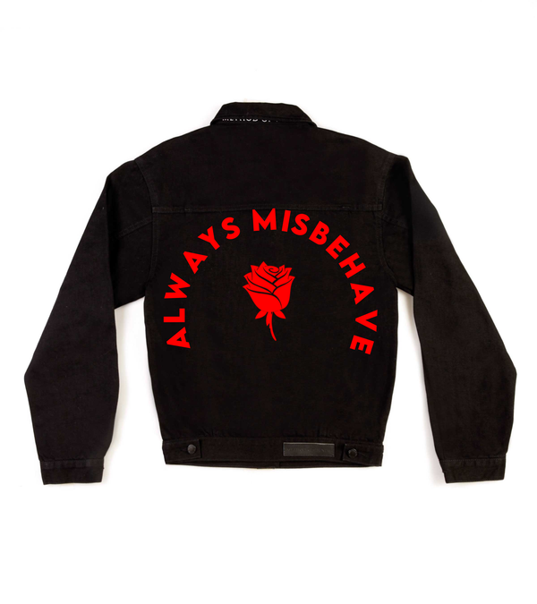 Method of Denim Womens Jackets Always misbehave Jacket