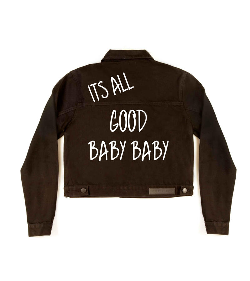 Method of Denim Womens Jackets Baby Baby Jacket