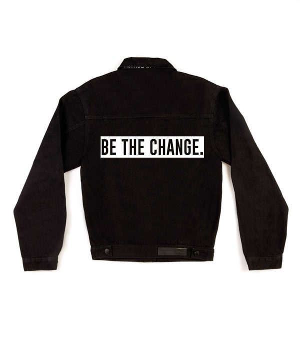 Method of Denim Womens Jackets Be The Change Jacket