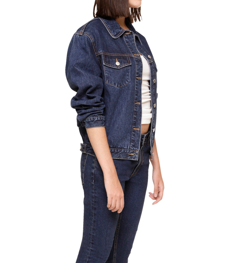 Method of Denim Womens Jackets 'Bleeding Heart' Denim Jacket (3970949644374)