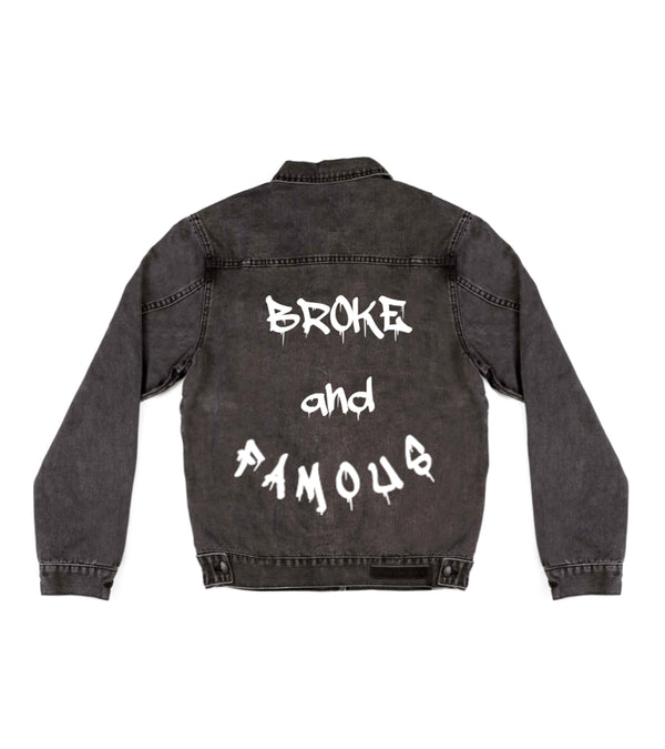 Method of Denim Womens Jackets Broke and Famous - Denim Jacket (3942584254550)