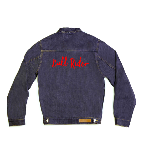 Method of Denim Womens Jackets Bull Rider Denim Jacket