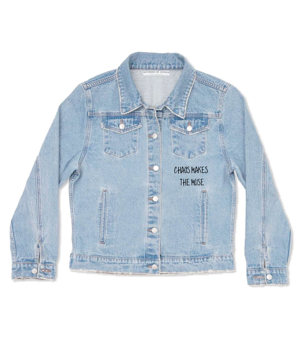 Method of Denim Womens Jackets Chaos Jacket