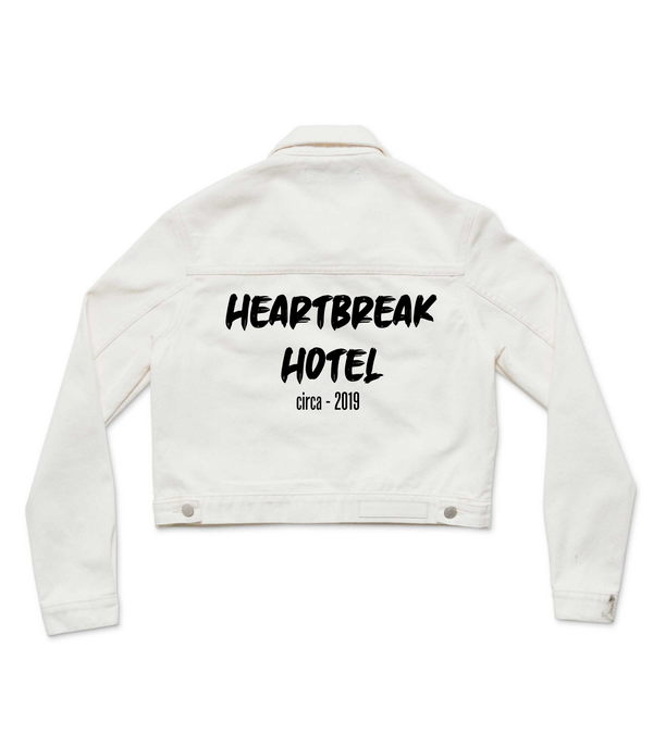 Method of Denim Womens Jackets 'Heartbreak Hotel' Denim Jacket